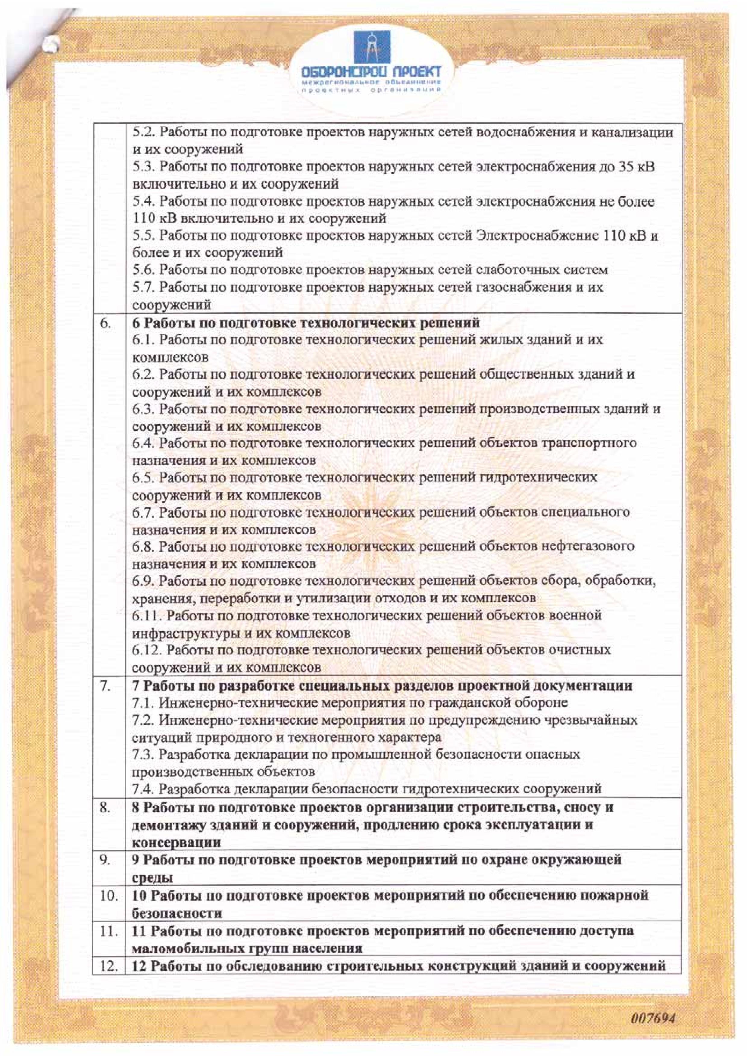 СРО лист 6