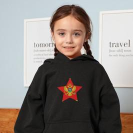 Montenegro Childrens Hoodie