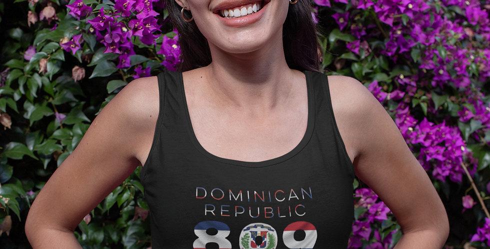 Dominican Republic Womens Vest Tank Top
