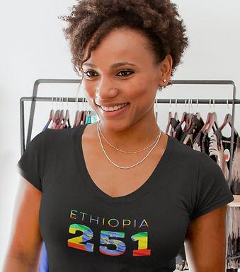 Ethiopia 251 Womens T-Shirt