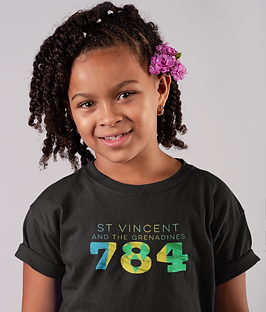 St Vincent and the Grenadines Childrens T-Shirt