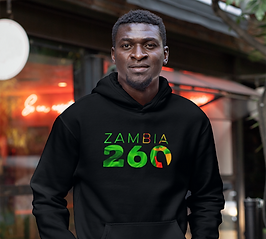 Zambia 260 Men's Pullover Hoodie