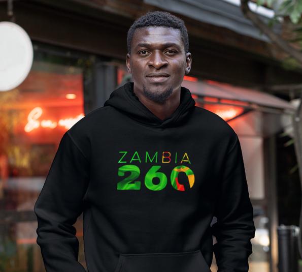 Zambia 260 Men's Pullover Hoodie