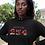 Kenya Womens Black Hoodie