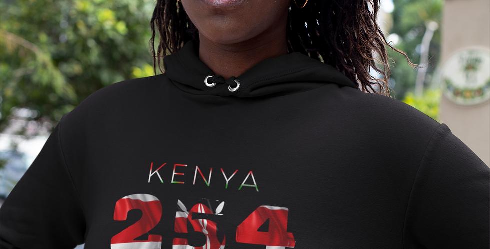 Kenya Womens Pullover Hoodie
