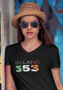 Ireland 353 Womens T-Shirt