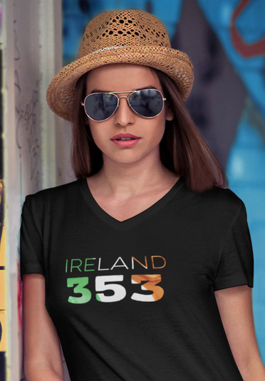 Ireland 353 Womens T-Shirt