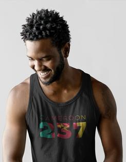 Cameroon 237 Mens Tank Top