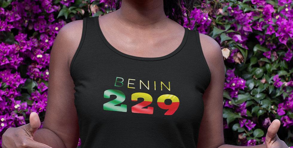 Benin Womens Black Vest