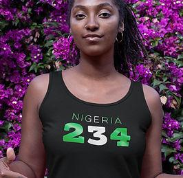 Nigeria 234 Women's Vest