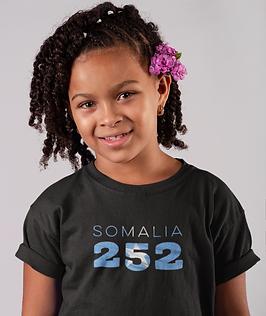 Somalia Childrens T-Shirt