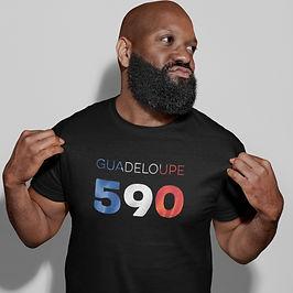 Guadeloupe 590 Mens T-Shirt