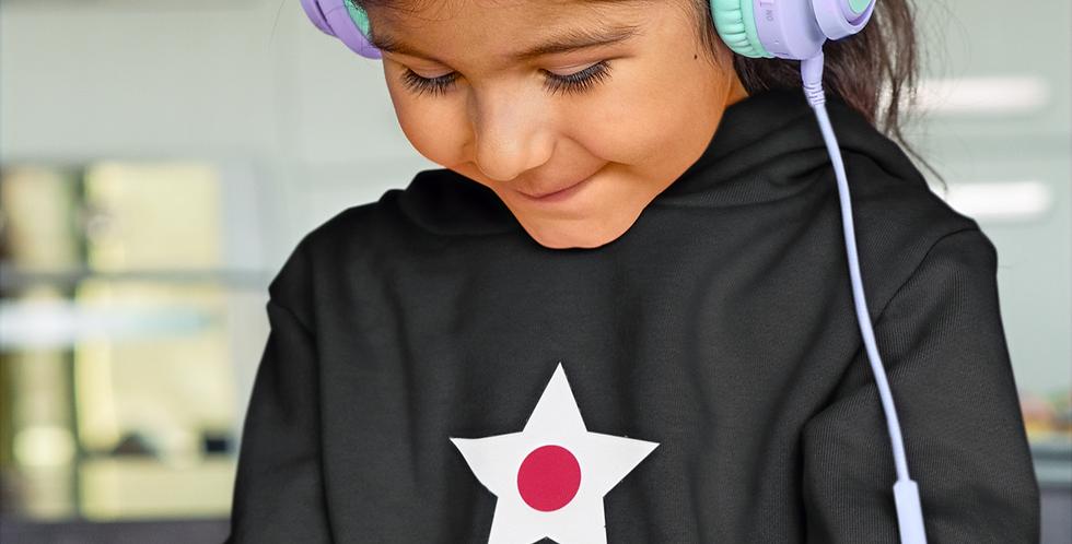 Japan Childrens Black T-Shirt