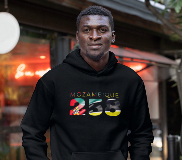 Mozambique 258 Mens Pullover Hoodie