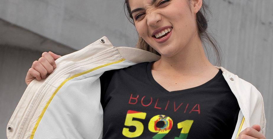 Bolivia Womens T-Shirt