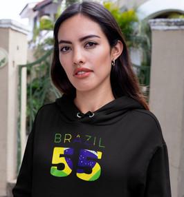 Brazil 55 Women's Pullover Hoodie