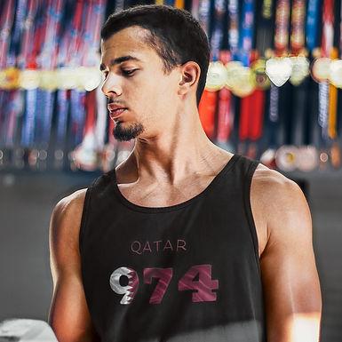 Qatar 974 Mens Tank Top