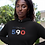 Guadeloupe Womens Black Hoodie