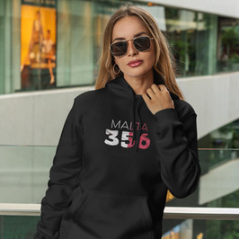 Malta 356 Womens Pullover Hoodie