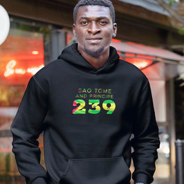 Sao Tome and Principe 239 Men's Pullover Hoodie