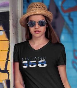 Finland 358 Womens T-Shirt