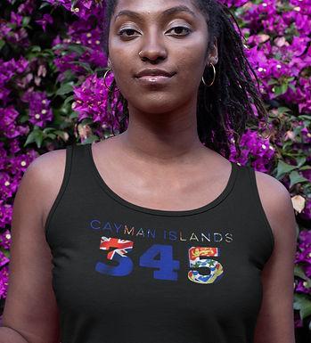 Cayman Islands 345 Womens Vest
