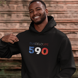 Guadeloupe 590 Mens Pullover Hoodie