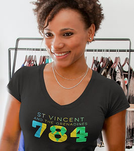 St Vincent and the Grenadines 784 Womens T-Shirt