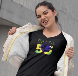 Brazil 55 Women's T-Shirt