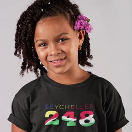 Seychelles 248 Childrens T-Shirt