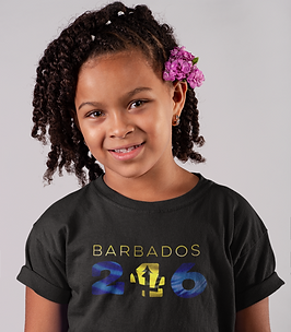Barbados Childrens T-Shirt