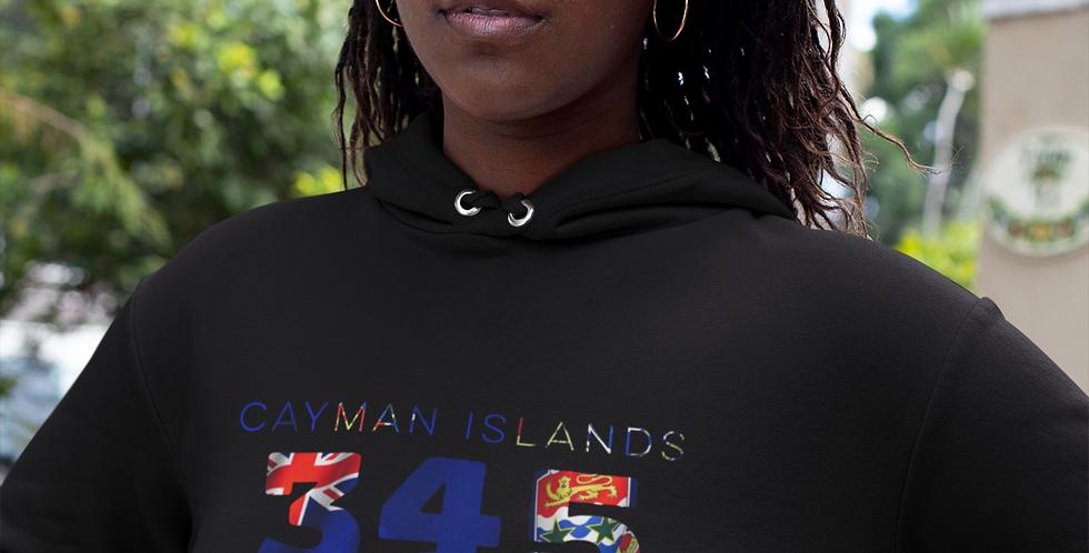 Cayman Islands Womens Pullover Hoodie