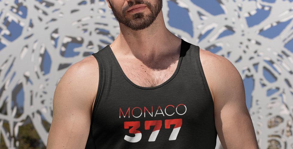 Monaco Mens Black Tank Top Vest