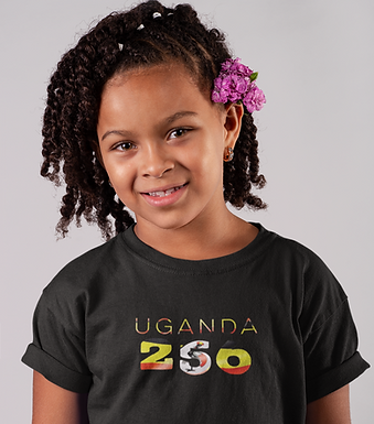 Uganda Childrens T-Shirt