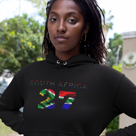South Africa 27 Women's Pullover Hoodie