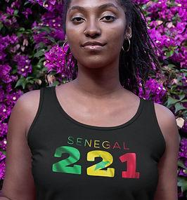 Senegal 221 Womens Vest