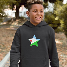 Djibouti Childrens Hoodie