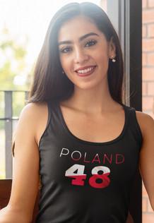 Poland 48 Womens Vest