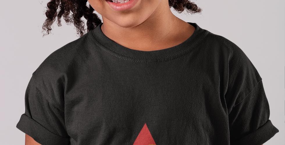 Childrens Kiribati Black T-Shirt