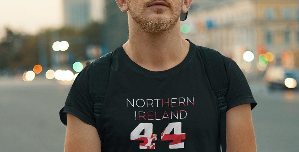 Northern Ireland Mens Black T-Shirt