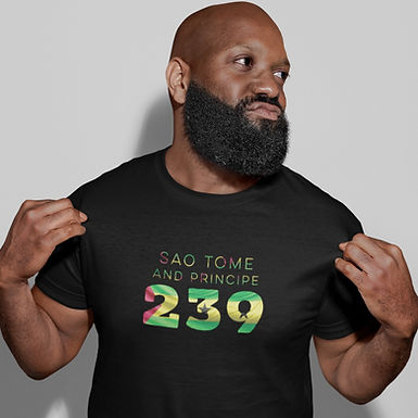 Sao Tome and Principe 239 Mens T-Shirt