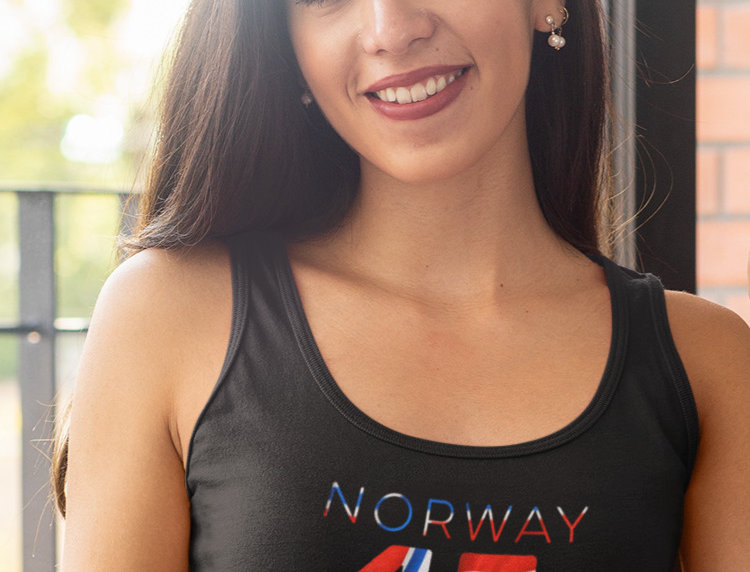 Norway Womens Black Vest