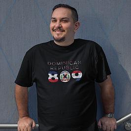 Dominican Republic 809 Mens T-Shirt