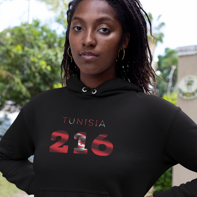 Tunisia 216 Women's Pullover Hoodie