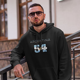 Argentina 54 Men's Pullover Hoodie