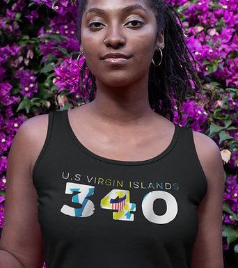 U.S Virgin Islands 340 Womens Vest