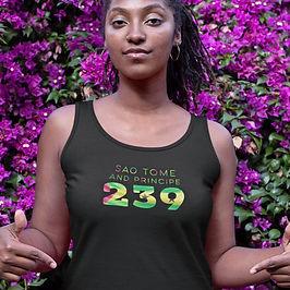 Sao Tome and Principe 239 Womens Vest