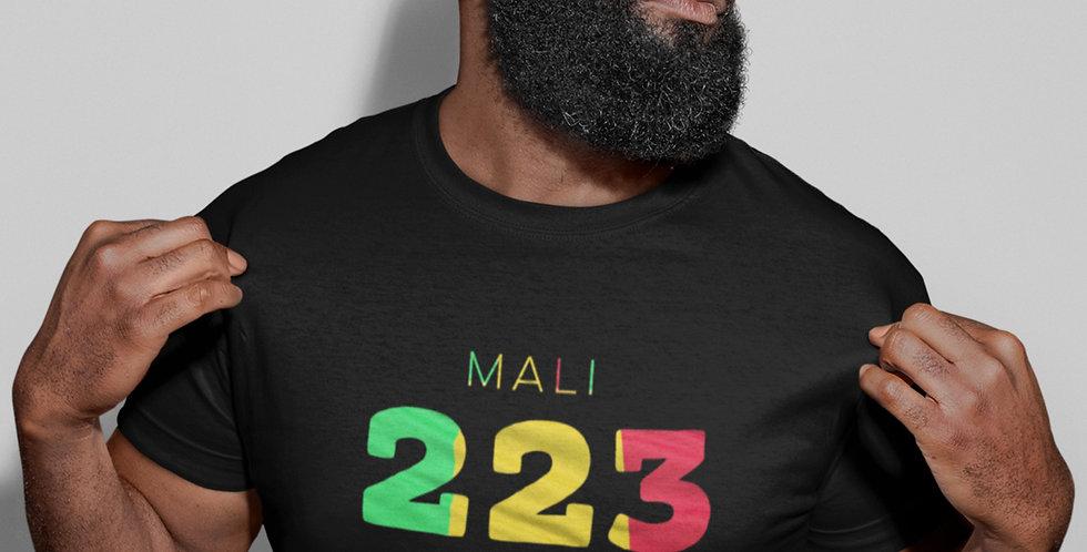 Mali Mens Black T-Shirt