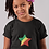 Republic of the Congo Childrens Black T-Shirt
