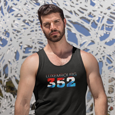 Luxembourg 352  Mens Tank Top